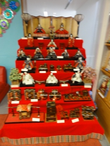 The Complete Hina Matsuri Display at the Nishimachi International School