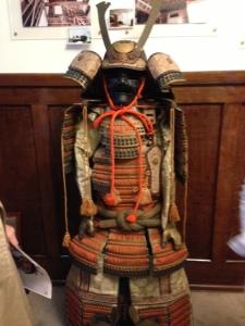 A close-up of the Kabuto