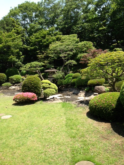 I can practice zen meditation they call it practice for Japanese meditation garden