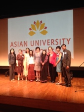 First Lady Akie Abe with a few members of the AUW Japan Support Committee