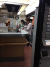 Diners at the counter