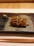 Anago - eel, perfectly grilled.